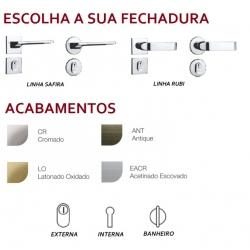 Kit Porta Pronta Forte - Madeira Maciça - Angelim
